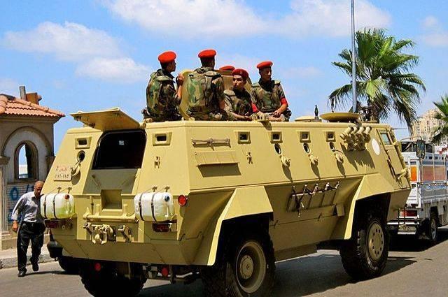 Египетская армия предотвратила теракт на Синайском полуострове