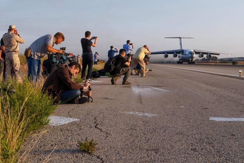 ВКС РФ в Сирии глазами иностранных репортёров