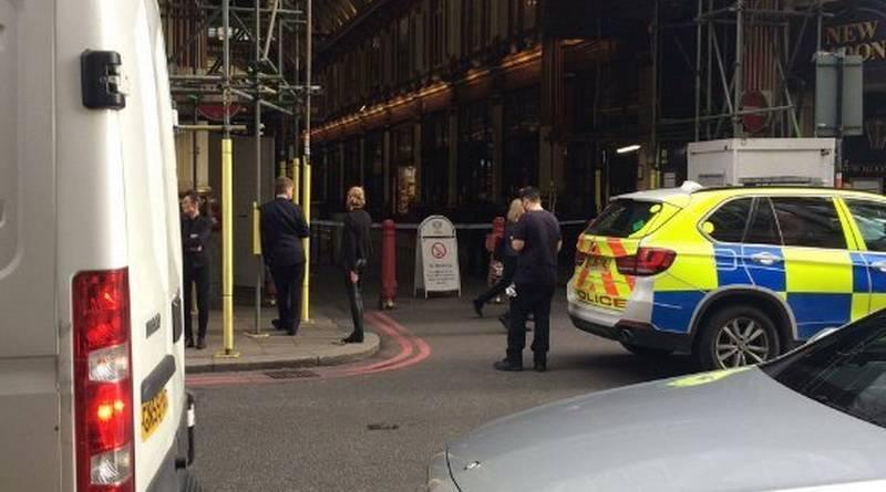 Leadenhall Market эвакуировали из-за подозрительного пакета