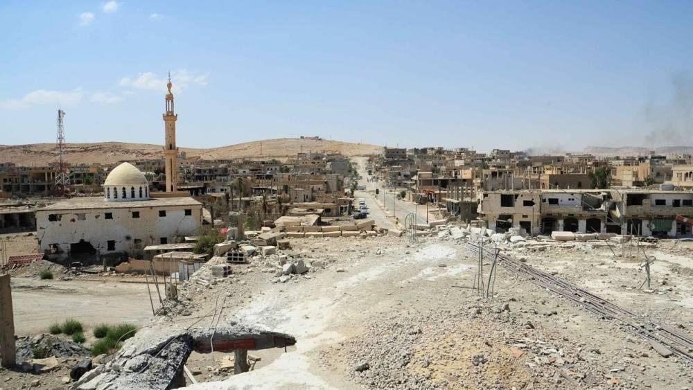 Сирия: ПВО сбили неизвестный объект в небе над аэродромом под Дамаском