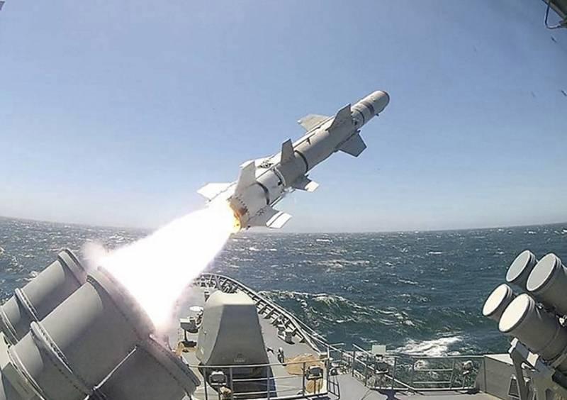 Мексика закупает для строящегося фрегата противокорабельные ракеты Harpoon