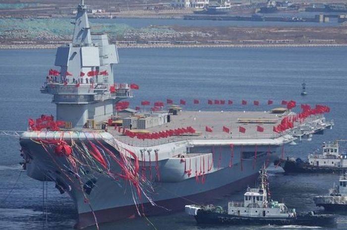 Китай готовится к проведению ходовых испытаний второго авианосца