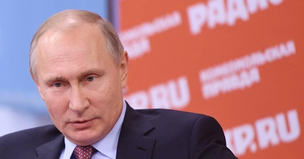 """Владимир Путин лично следит за конкурсом """"Лидеры России"""""""