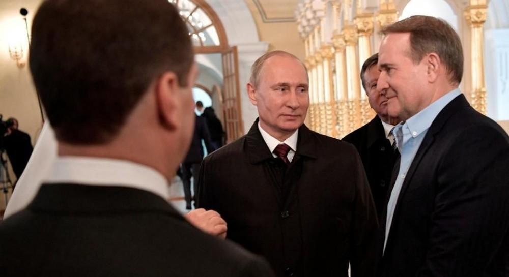Путин и Медведчук обсудили второй этап обмена пленными на Донбассе - РосСМИ
