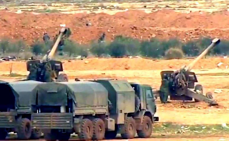 «Краснополь» в действии: видео уничтожения обстрелявших Хмеймим боевиков