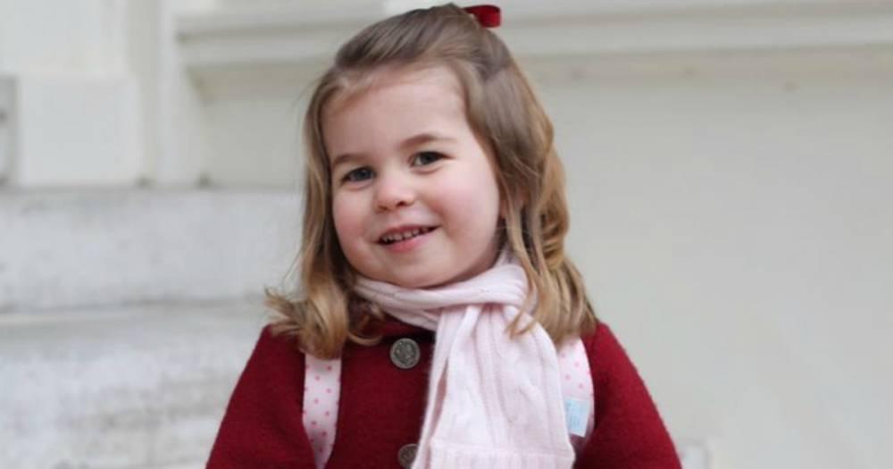 Принцессе Шарлотте всего два годика, а она уже говорит на двух языках