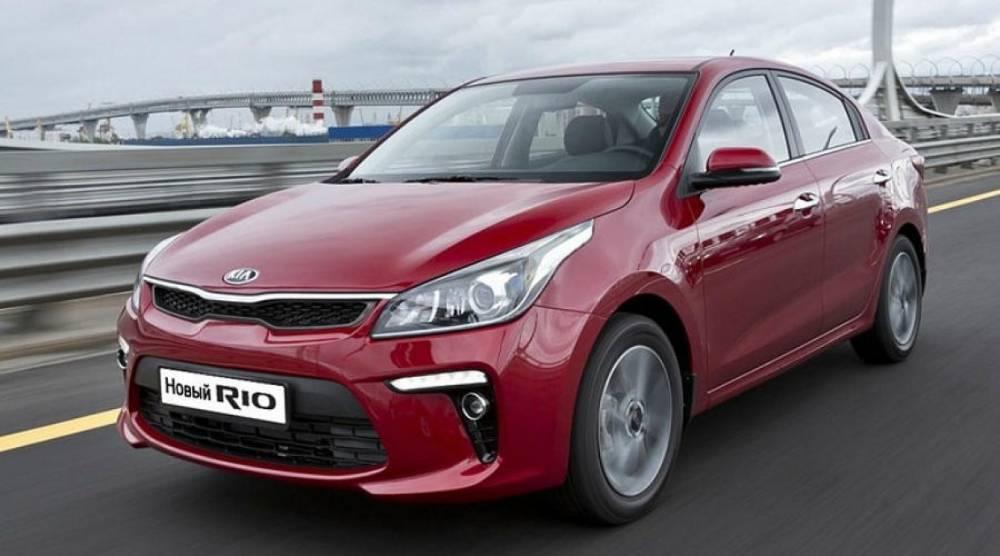Названы самые покупаемые автомобили в России в 2017 году