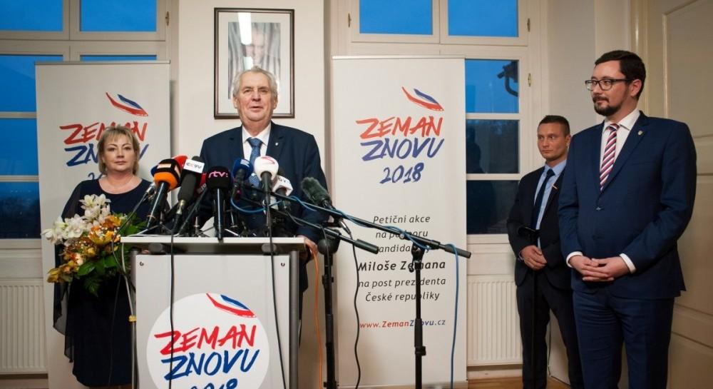 Выборы в Чехии: во второй тур вышли Земан и Драгош
