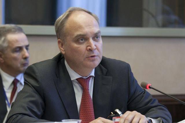 Антонов и Хантсман обсудили возможность улучшить отношения РФ и США