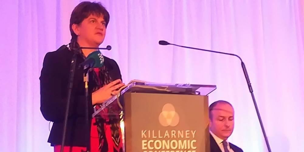 Речь лидера DUP оценена как попытка налаживания отношений между Дублином, Белфастом и Лондоном