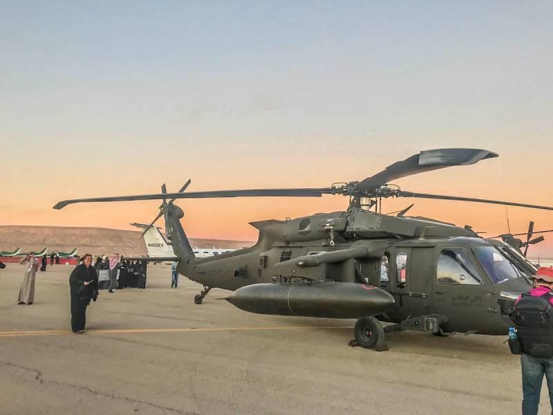 Саудовская Аравия заказала дополнительные вертолеты Black Hawk