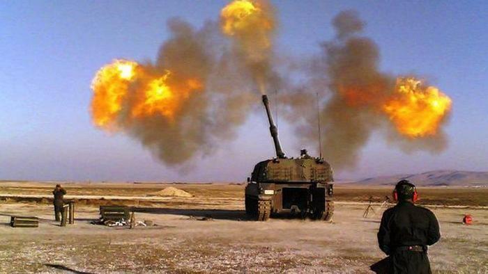 Турецкая армия вновь обстреляла позиции сирийских курдов в районе Африна