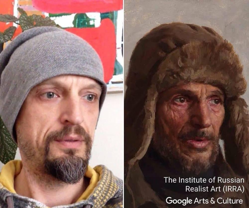 Приложение Google может найти любому двойника в мире искусства
