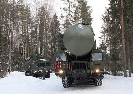 ПГРК «Ярс» в рамках учения вышли на полевые позиции в Новосибирской области