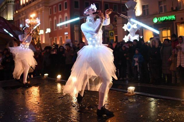 Cобянин: более 4 млн человек посетили новогодние мероприятия в Москве