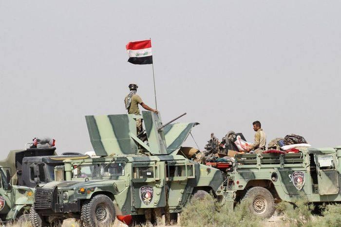Вертолёт ВВС США по ошибке расстрелял колонну иракских сил безопасности