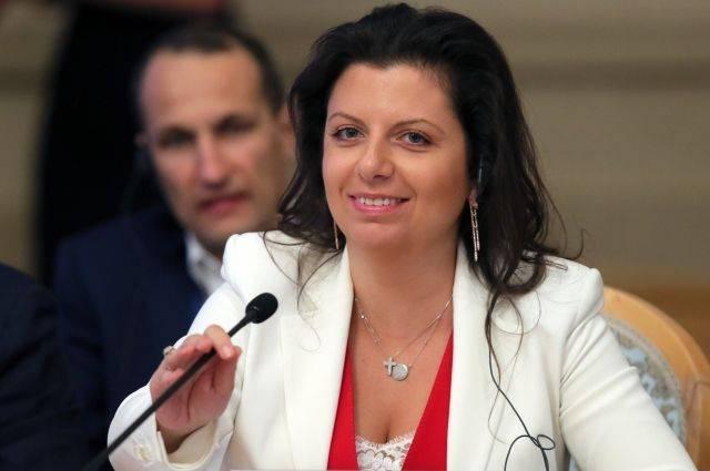 Симоньян прокомментировала скандал с «вмешательством» РФ в выборы США