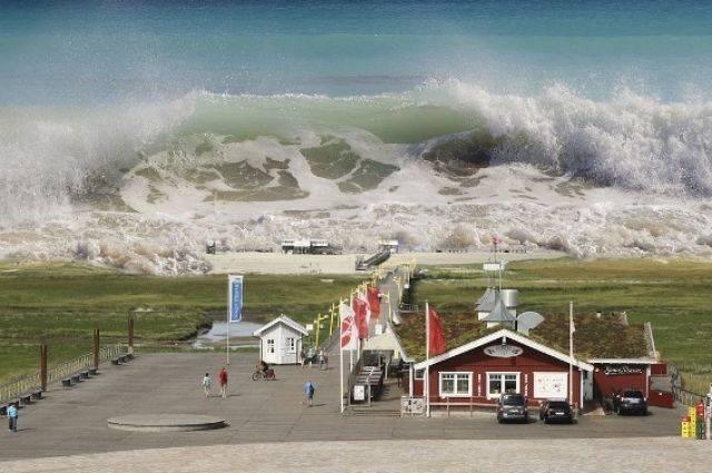 В Тихом океане объявлена угроза цунами после мощного землетрясения