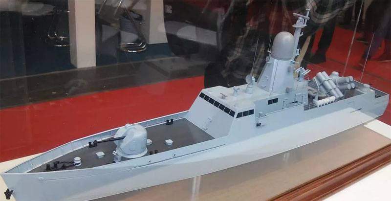 Как выглядит быстроходный ракетный катер для ВМС Украины. Снова в картоне