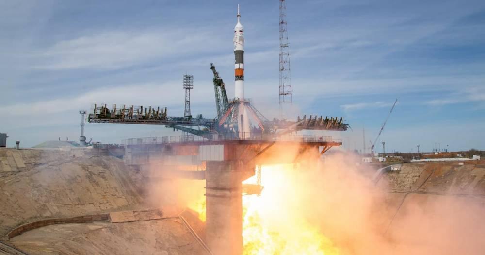 Астронавты из России и США выжили после аварии при запуске ракеты-носителя «Союз»