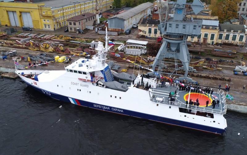 Корабль «Безупречный» вошёл в состав Береговой охраны