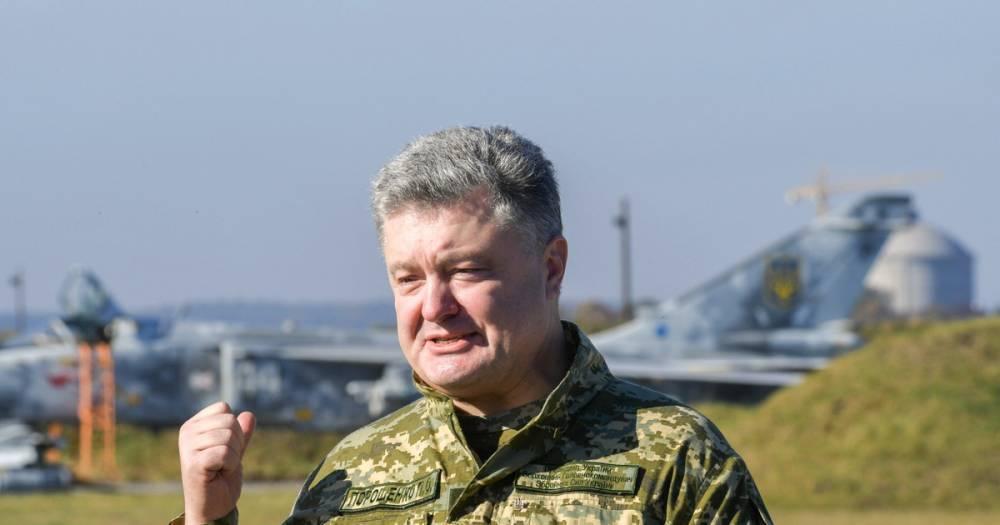 Порошенко разрешил ВСУ применять в Донбассе всё имеющееся оружие
