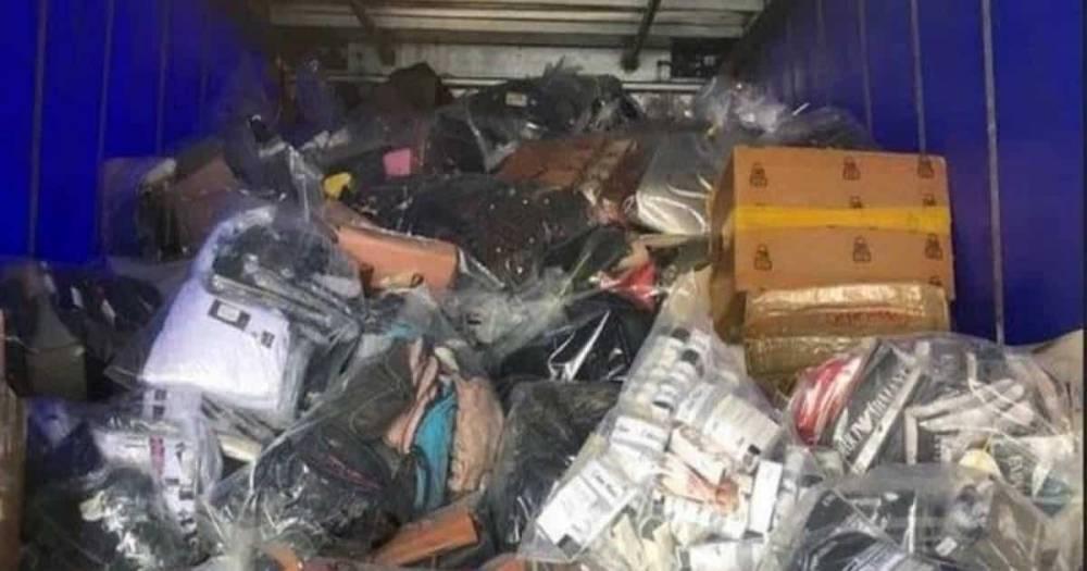 В Манчестере нашли склад контрафактной продукции на сумму £2,5 млн