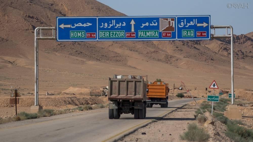 Сирия: в городе Джабла впервые за долгие годы построили новую дорогу