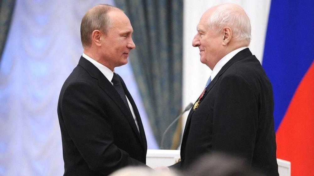 Путин тепло поздравил Марка Захарова с юбилеем