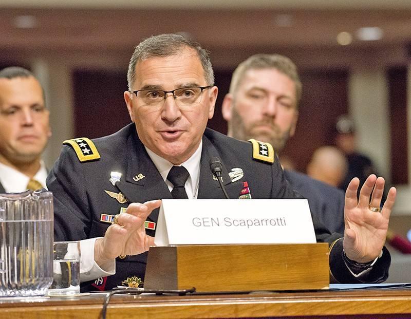 """Скапаротти: НАТО готово ответить на """"растущую угрозу России"""""""