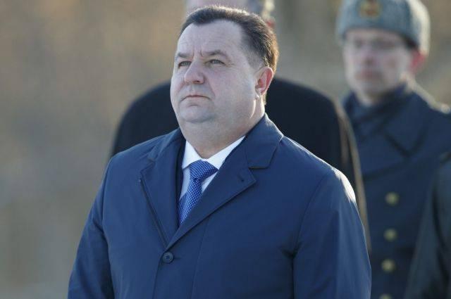 Глава Минобороны Украины уволился с воинской службы