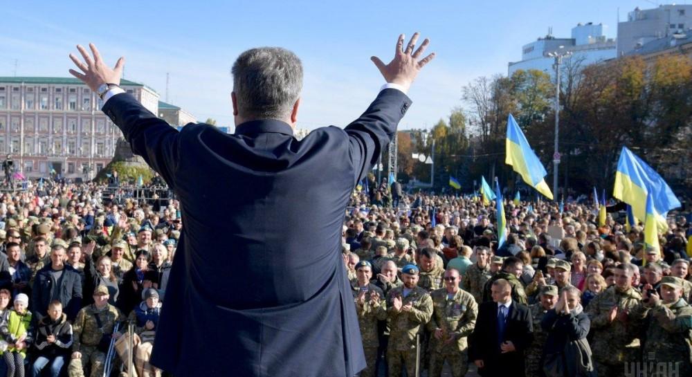 Порошенко: надеюсь, что объединительный Собор церквей состоится вопреки поговорке «где два украинца - три гетмана»