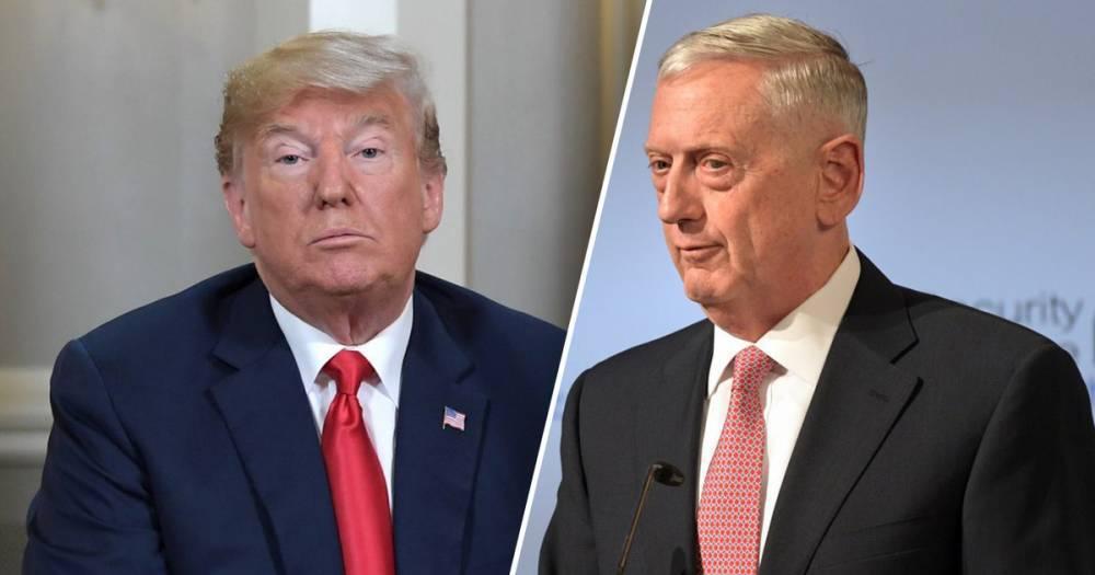 Трамп не исключил, что глава Пентагона Мэттис может уйти в отставку