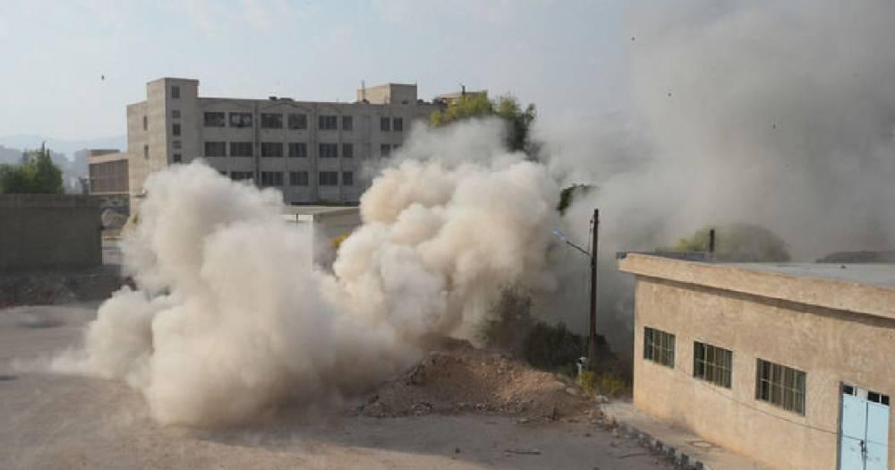 Сирия потребовала от ООН расследовать применение коалицией США фосфорных бомб