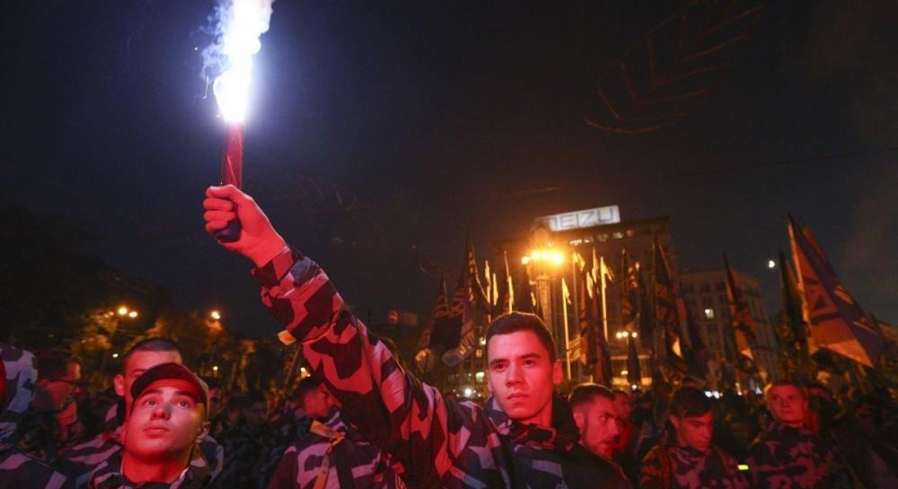 В полиции озвучили количество участников марша УПА в Киеве