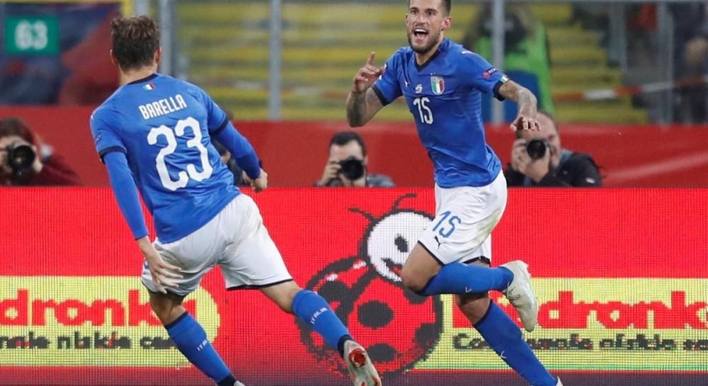 Сборная Италии на последней минуте вырвала победу у Польши в поединке Лиги наций