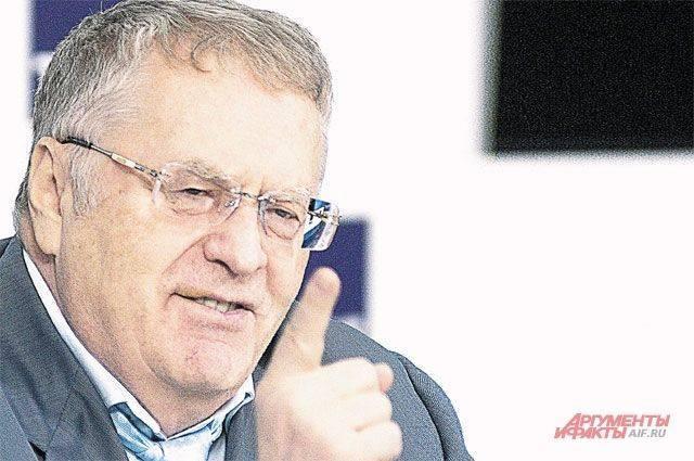 Жириновский рассказал о «закрывающих всю планету» С-700