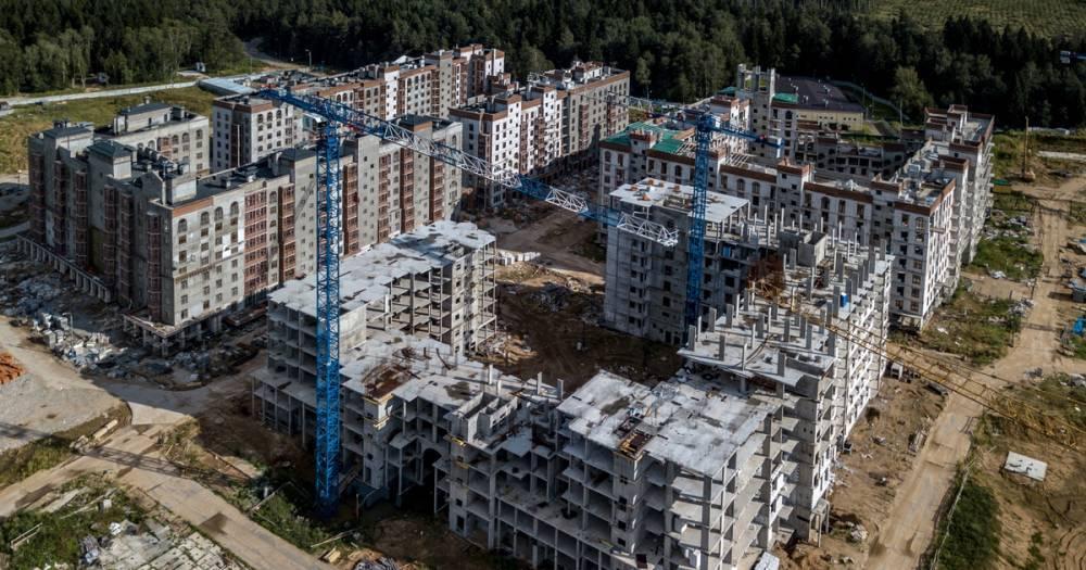 Названы регионы России, где строят больше всего жилья