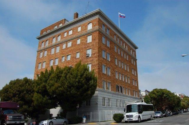 Российский посол осмотрел генконсульство РФ в Сан-Франциско