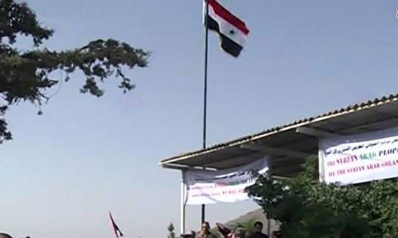 В Сирии открыли единственное КПП на границе с Израилем, но пока только для ООН
