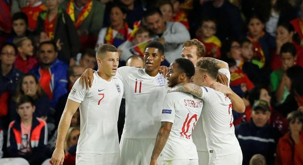 Сборная Англии в гостях забила 3 гола Испании в Лиге наций