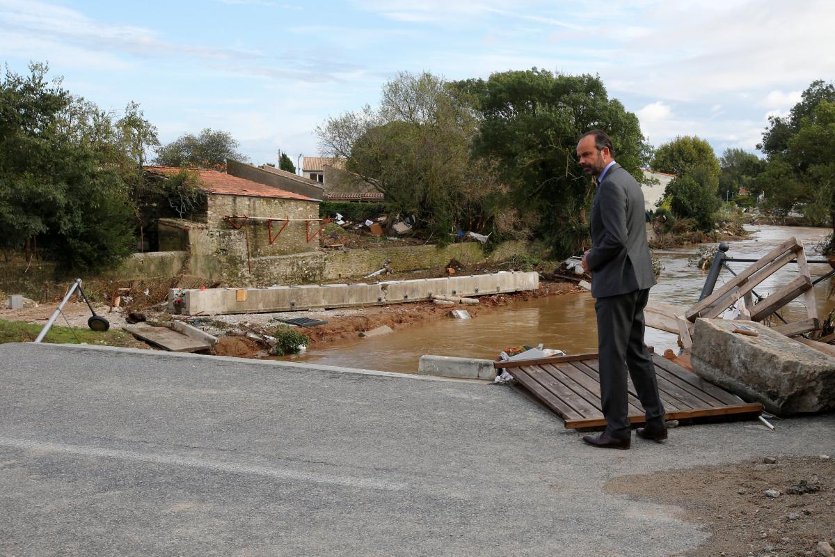 Разрушительное наводнение накрыло юг Франции: погибли не менее 13 человек
