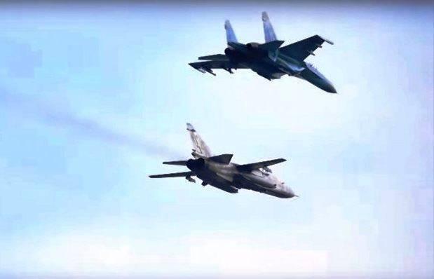 На Украине назвали победителя боя между Су-27 и F-15