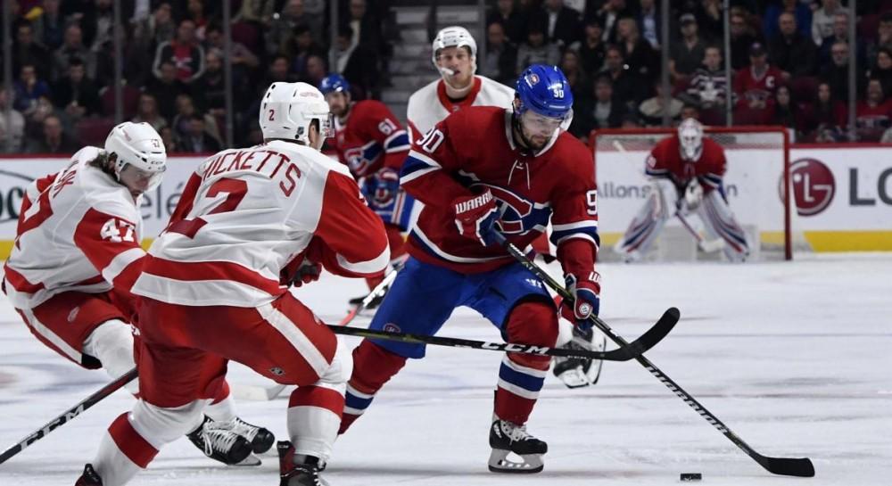 Детройт Ред Уингз потерпел шестое поражение подряд на старте сезона НХЛ