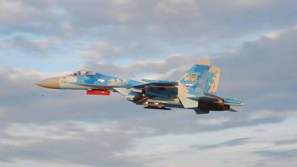 В Украине разбился самолет Су-27. Погибли украинец и американец