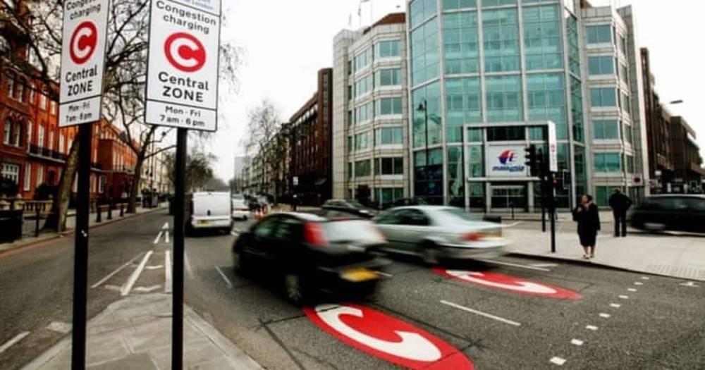 Сотни водителей совершают ошибку в Лондоне, внося ненужную плату за проезд