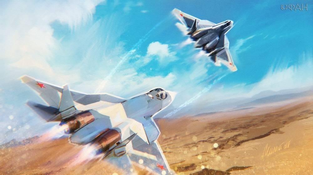 Сверхзвуковой истребитель Су-57 может стать ударным беспилотником