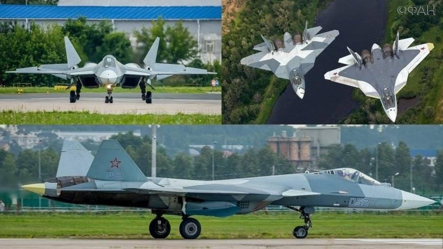 Су-57 на вершине: в России ответили на американскую публикацию о «самолете-неудаче»