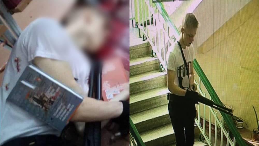 «Керченский стрелок» надел футболку с надписью «Ненависть» в день массового убийства