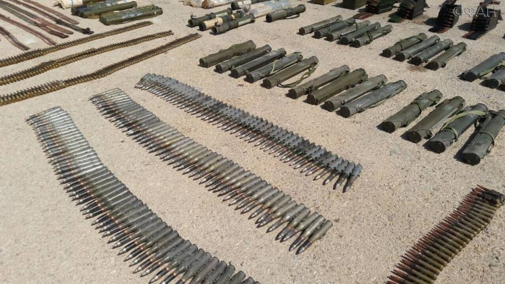 Сирия: САА обнаружила склад оружия на востоке провинции Даръа